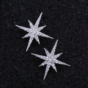 Delicate Cubic Zirconia Star